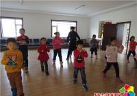 园月社区举办青少年跆拳道兴趣班