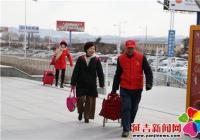 雷锋班春运送温暖 志愿者情满回家路