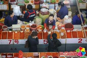 【新春走基层】西市场 记忆中家的味道 变化中发展的希望