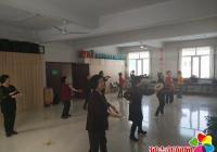 民兴社区开展手鼓舞培训