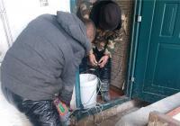民安社区在暴风雪后的火速救急