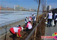 """白新社区开展""""保护河流 节约用水""""系列活动"""