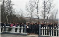 """朝阳川镇开展""""我们的节日·清明节"""" 主题党日活动"""