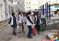 """建工街道延春社区开展 """"主题党日+生态环保义务植树""""活动"""