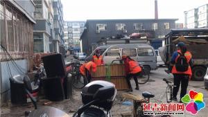 清理建筑垃圾 打造美丽社区