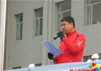 北山街道关工委为兴安小学足球赛赠送足球