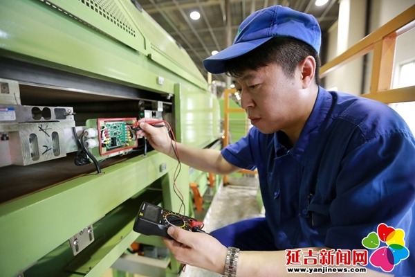 【延烟好榜样】金光日——制丝车间的电气能手