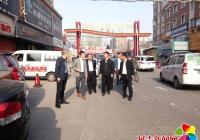 省扫黑除恶督导组到延吉市北大建材市场督导检查