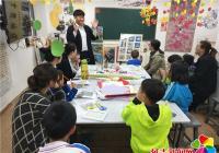 民盛社区福源泉党支部组织青少年开展趣味剪纸活动