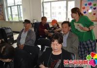 河南街道白山社区开展老年人夏季养生知识讲座