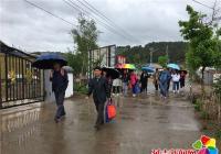 北山街道丹吉、丹进、丹英社区开展和龙光东村励志行