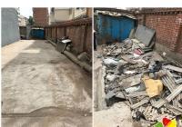 清理建筑垃圾 确保环境整洁