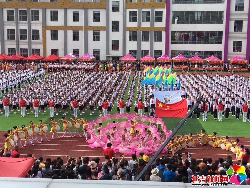 """北山小学举办""""七彩儿童,放飞梦想""""第六届艺体节"""