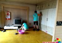 """""""七彩虹""""志愿者团队为贫困户带去爱心清洁服务"""