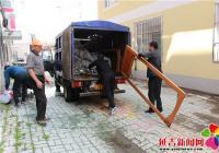南阳社区开展环境卫生整治工作
