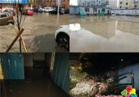 暴雨突袭延吉 进学街道第一时间到岗防汛