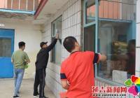 白山社区组织安置帮教人员开展公益劳动