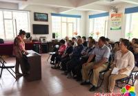 白丰社区社区举办预防糖尿病知识讲座