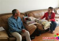 延青社区开展残疾人动态更新调查工作