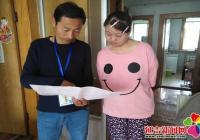 白桦社区开展残疾人信息数据动态更新工作