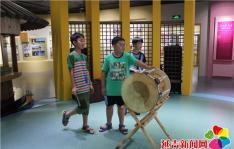 民旺社区妇联组织留守儿童参观延边博物馆