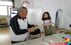 园辉社区开展污染源普查知识宣传活动