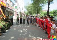 北山街道关工委开展庆祝八一建军节活动