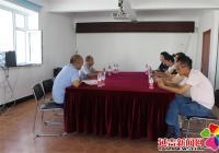 朝阳社区党总支与省112勘察大队举行对接