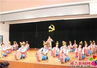 """新兴街道开展 中老年才艺展演欢庆""""8·15""""老人节"""