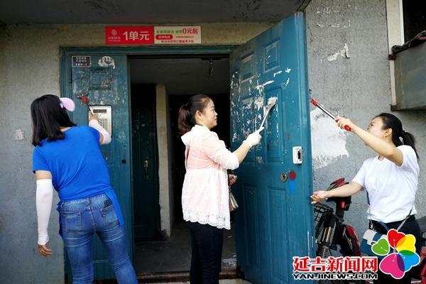 """延吉持续开展清理城市""""牛皮癣""""大会战"""