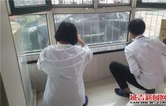 延虹社区组织学生志愿者假期看望八旬老人