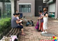 """民旺社区开展""""中元节""""文明祭祀 防火宣传活动"""