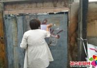 丹明社区紧急动员开展防风防汛工作