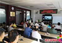 延青社区组织党员观看《厉害了,我的国》纪录片