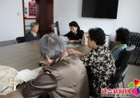 """长生社区开展""""不忘初心,观看文献记录片""""主题党日活动"""