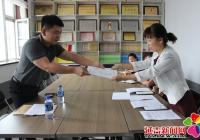 长生社区党组织与州财政局党组织开展 精准对接仪式