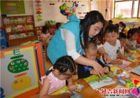 """园辉社区开展""""一个孩子一个家,共做城市文明人""""活动"""