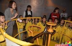春阳社区携手东方星幼儿园开展科普周活动