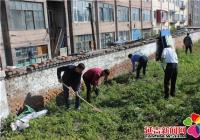南阳社区开展秋季河道专项整治活动