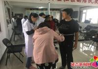 民旺社区积极开展 慢性病健康体检工作