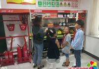 民强社区为侨胞儿童开设消防小课堂