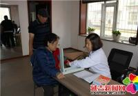 """长林社区开展""""知晓您的血压""""健康教育义诊活动"""