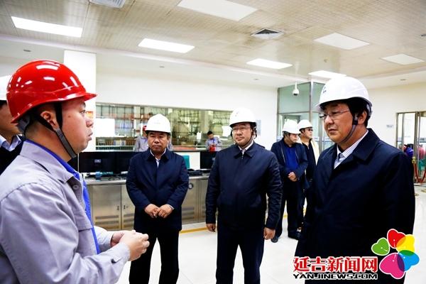 蔡奎龙到供热企业调研冬季供暖准备情况