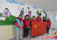 志愿者入社区 绘出民族大团结