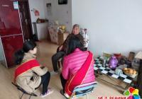 金秋十月重阳节  志愿者行动暖人心