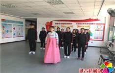 延青社区积极备战建工趣味运动会