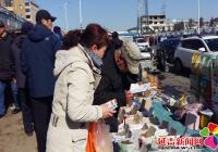 民旺社区妇联开展食品安全宣传活动
