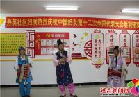 丹英社区妇联与丹英民族艺术团携手开展文艺演出活动