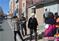 白菊社区以实际行动为创城助力