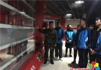 组织参观消防中队 普及消防安全知识